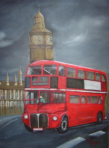 London - Doppeldeckerbus 2014