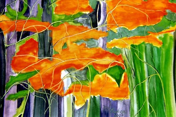 Herbstwald Impression 2007
