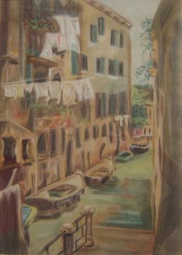 Szene in Venedig 1999