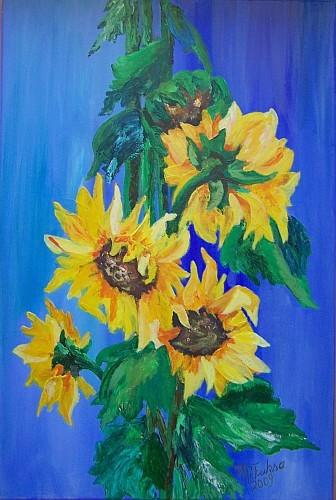 Sonnenblumen 2009