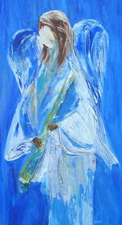 Engel in blau 2007