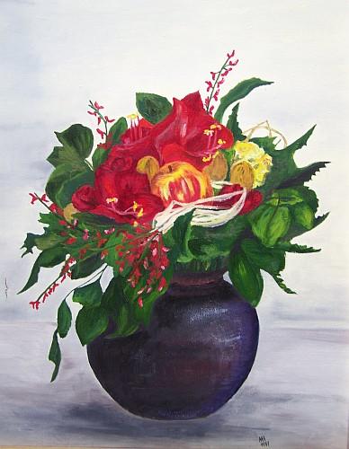 Blumengesteck 1997