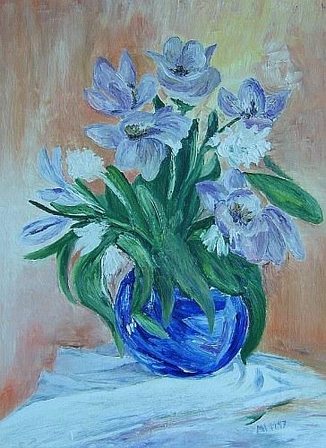 Lila Blumen 1997