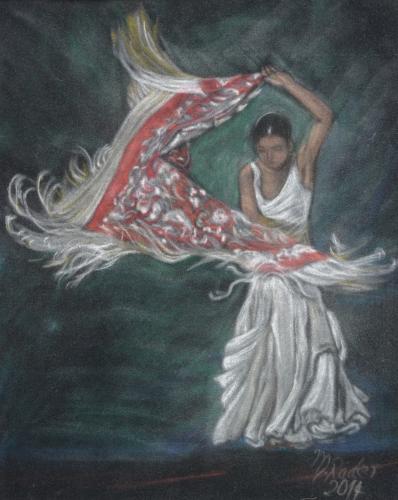 Flamencotänzerin 2014