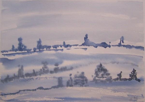 Eisige Landschaft 1995