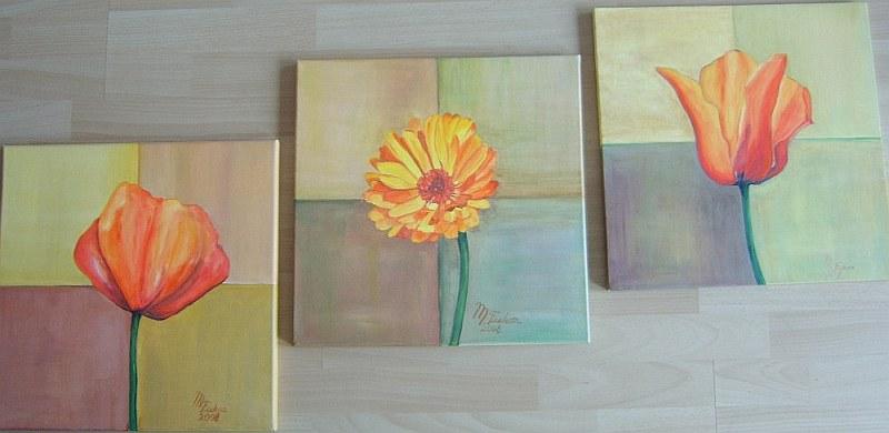 Blumen 3er 2008