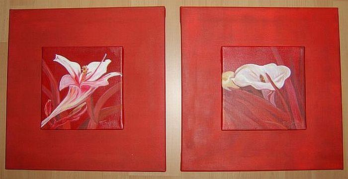 Blumen 2er rot 2009