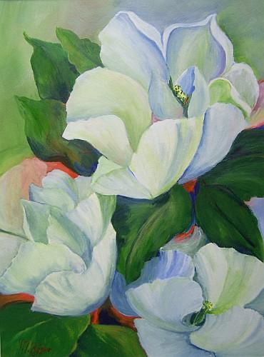 Weisse Magnolien 2010
