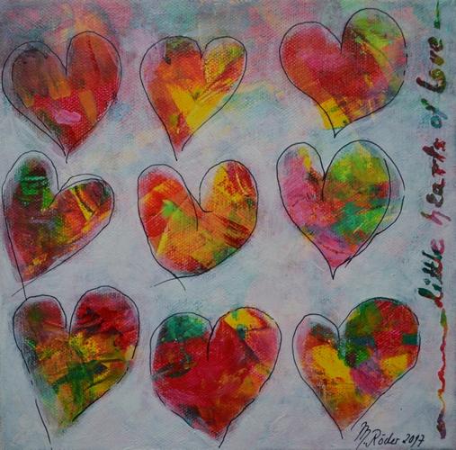... little hearts of love 2017