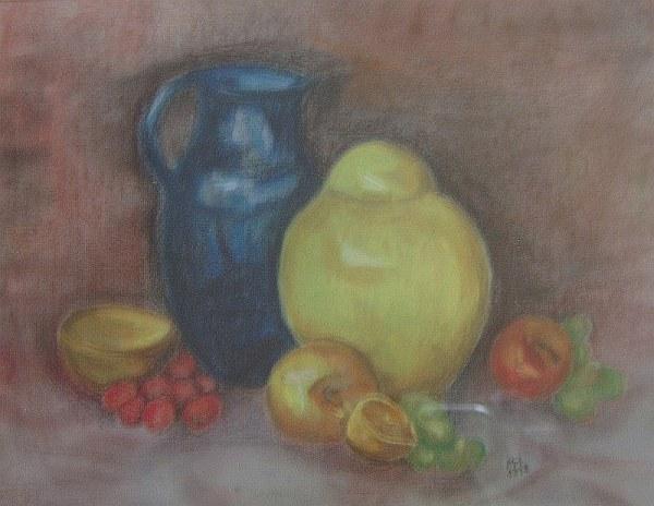 Krüge mit Früchten 1998