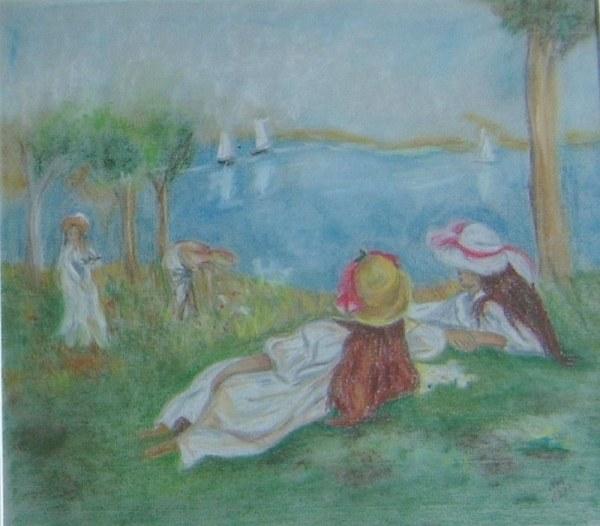 Renoir - Mädchen am See 1997
