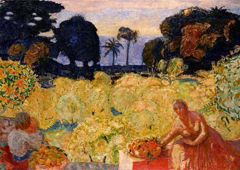 ボナール 地中海の庭