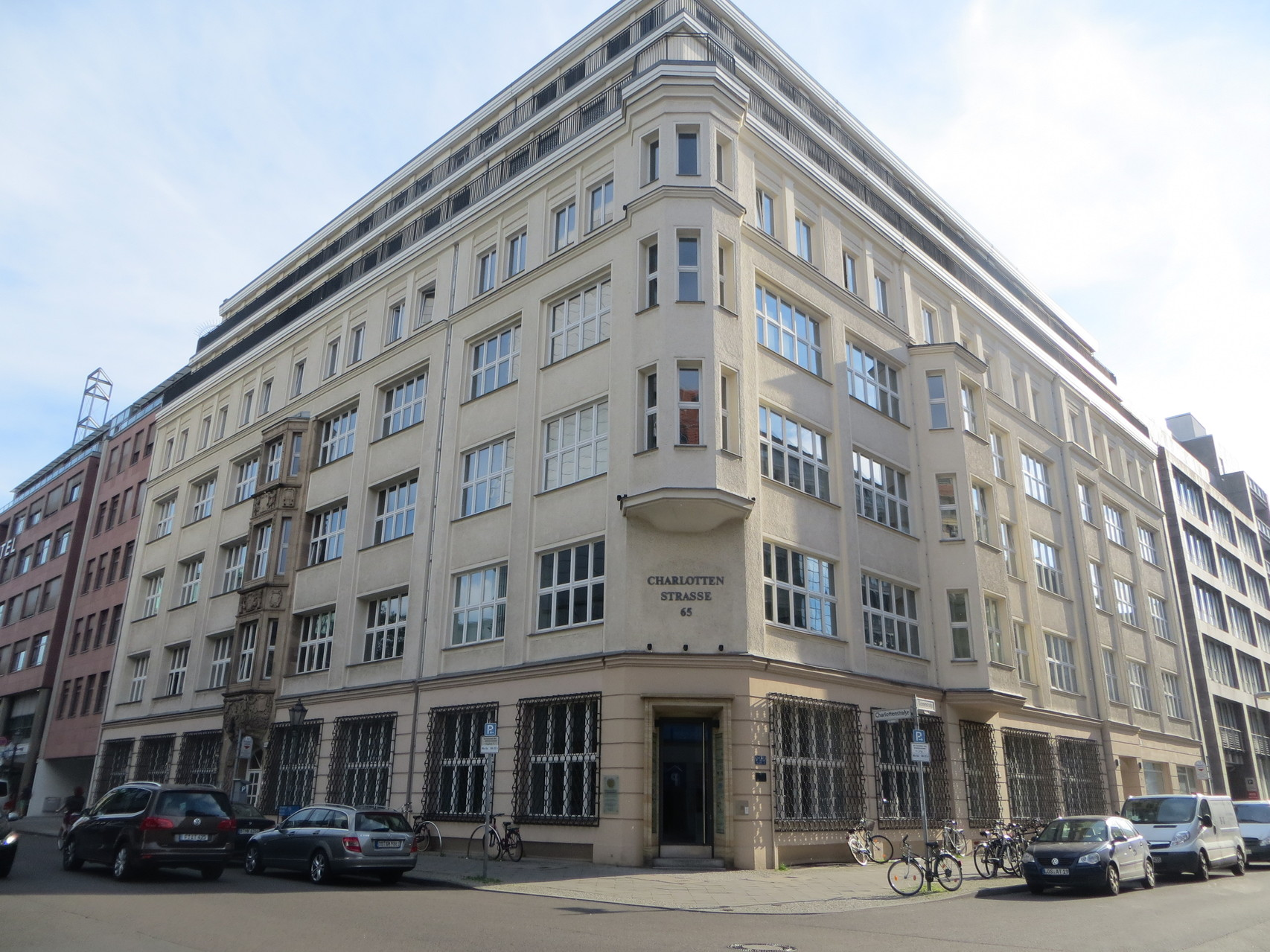 Steuerbüro Charlottenstraße Berlin