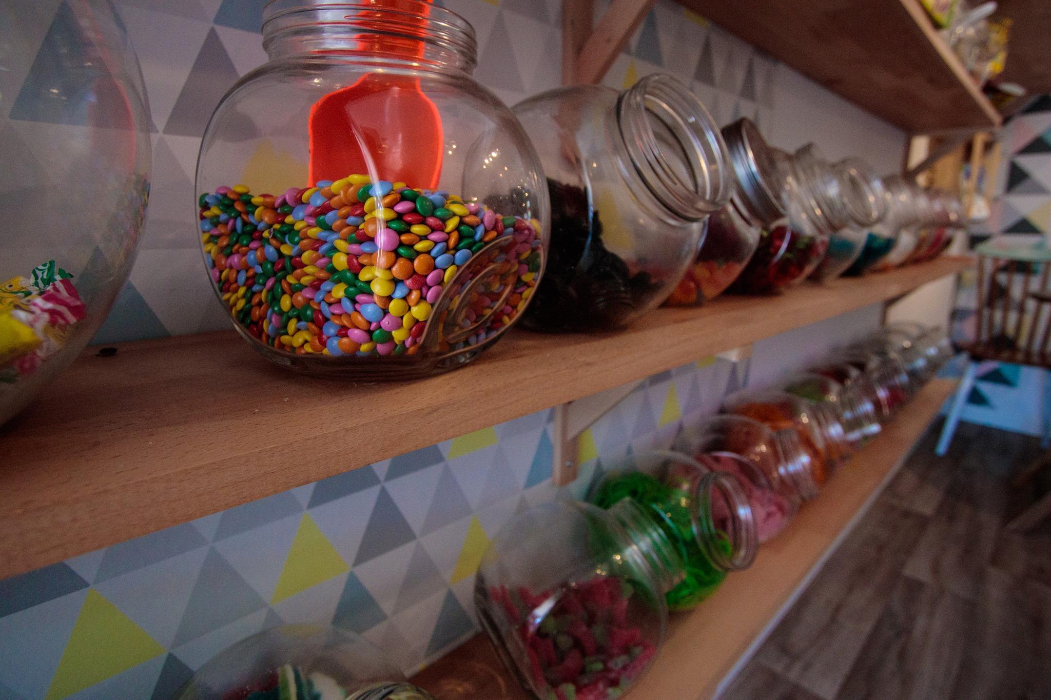 L'épicerie sucrée de Sauzon : bonbons, caramels de Groix, thés bio...