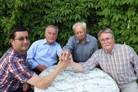 Mirko Schinnerling, Günther Naumann, Dr. Reiner Müller, Konrad Eulitz