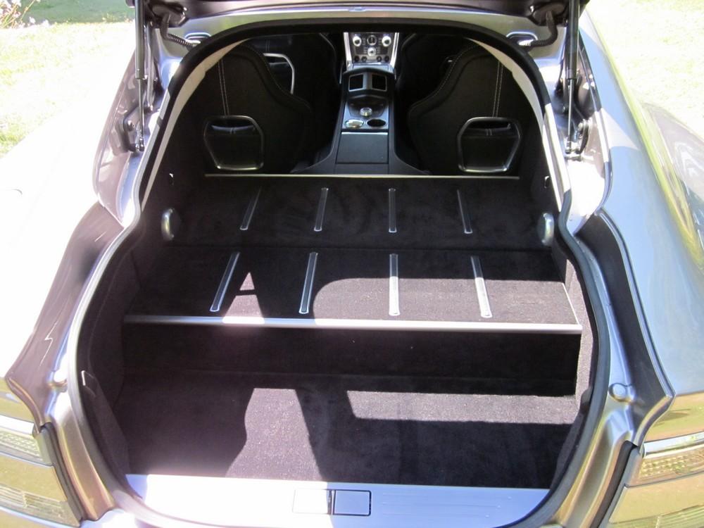moquette coffre Aston Martin Rapide