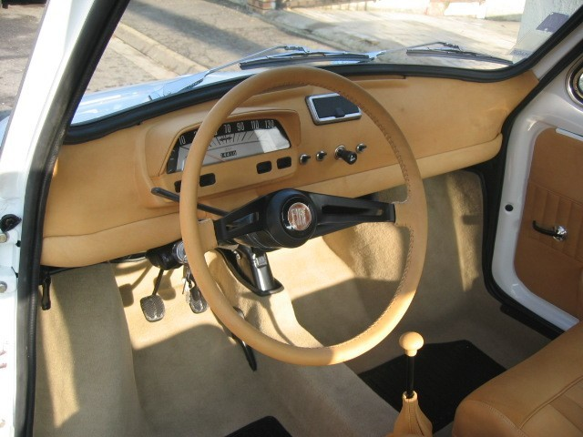 Fiat 500 Luxe full cuir sauvage
