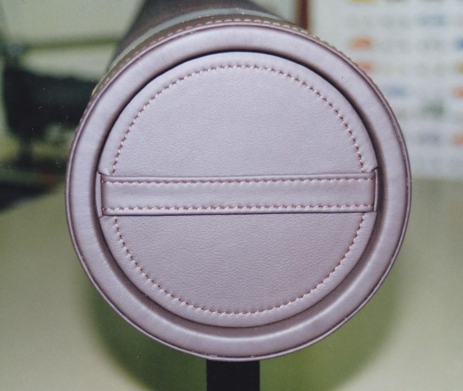 Canapé cuir et tissu crin de cheval