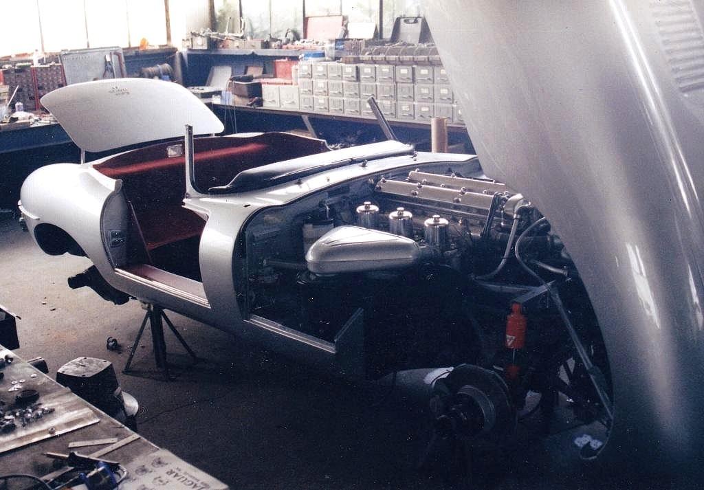 Jaguar type E série 1 4.2 l