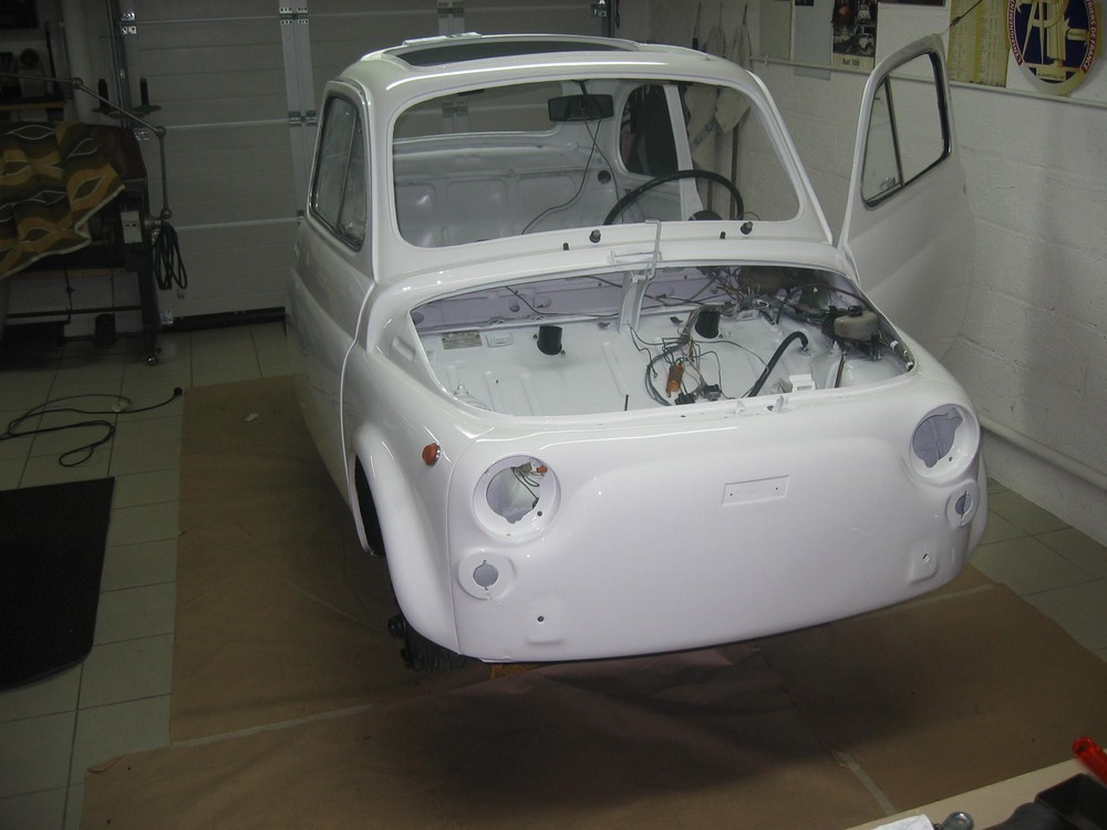 Fiat 500 Luxe cuir bicolore