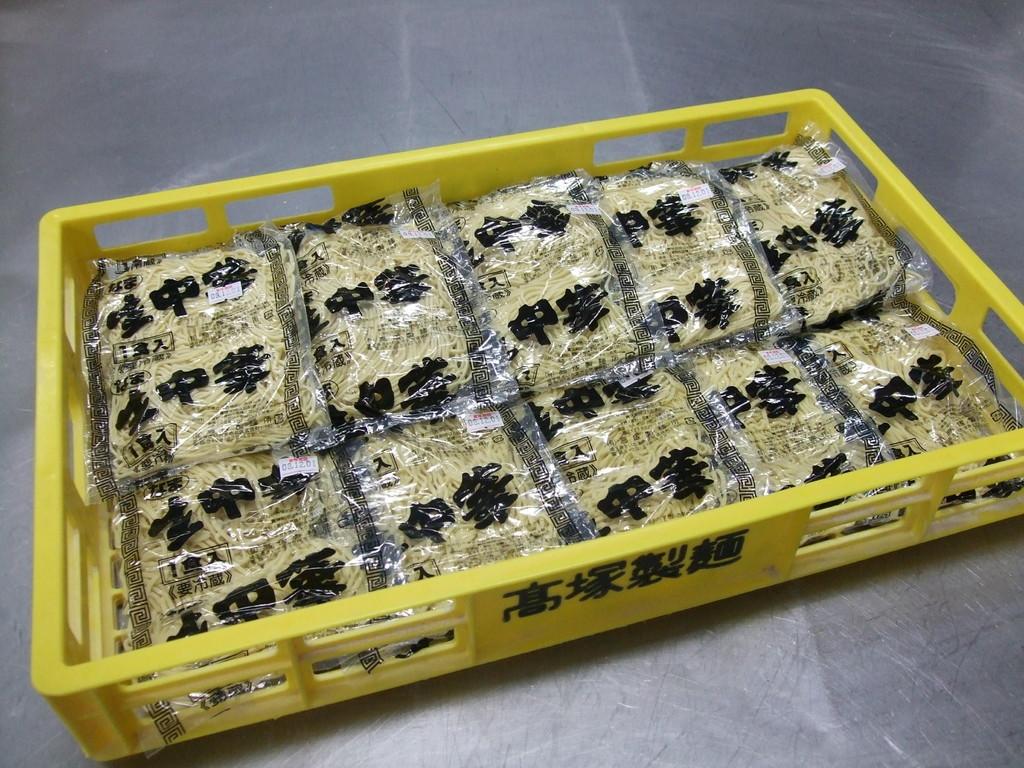 1食入り中華麺(箱詰め)