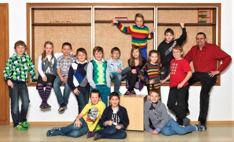 2012-13  _  2.Kl. (3./4. Schst.) mit KL Gerhard Kappacher
