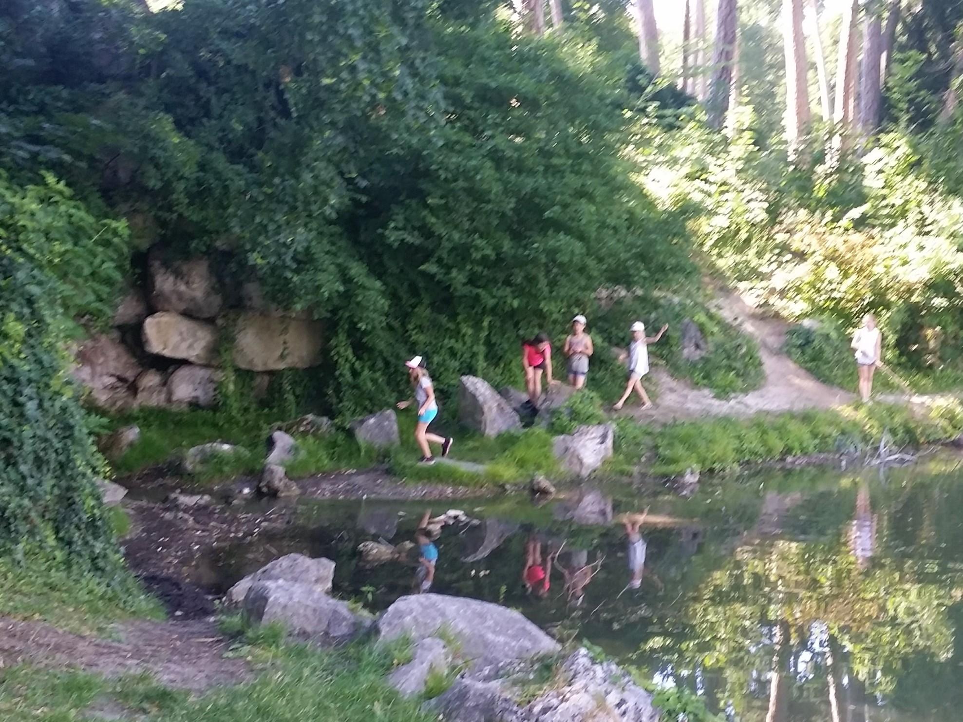Stadtpark-Erkundung
