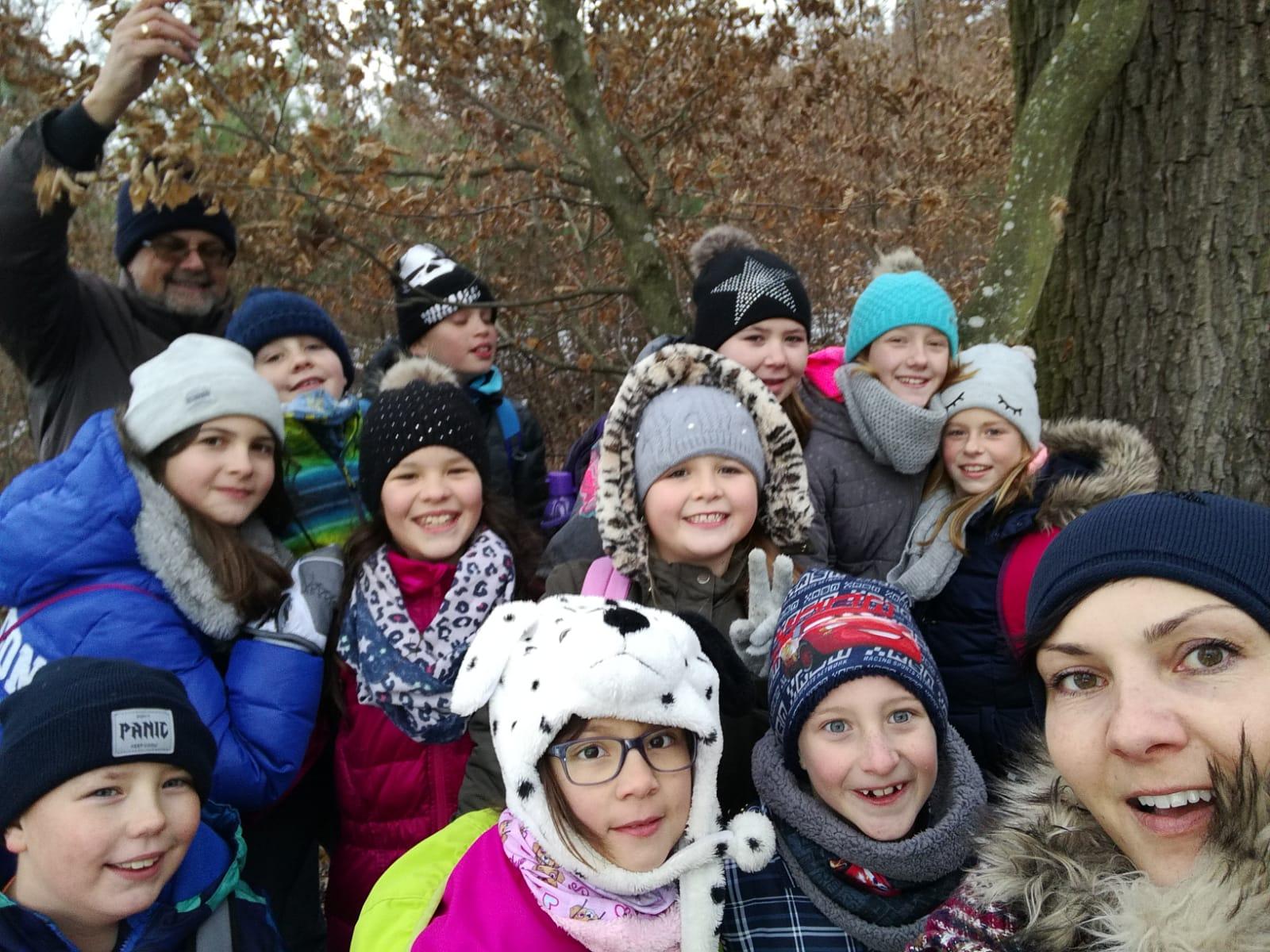 Waldwanderung zum Winterbeginn (N&Ö mit Jasmin W.)