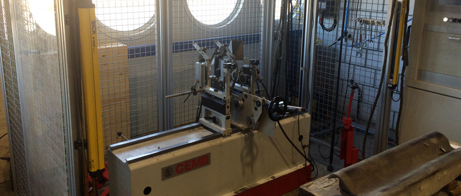 Universalauswuchtmaschine horizontal bis 300 kg