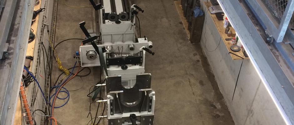 Universalauswuchtmaschine horizontal bis 3t