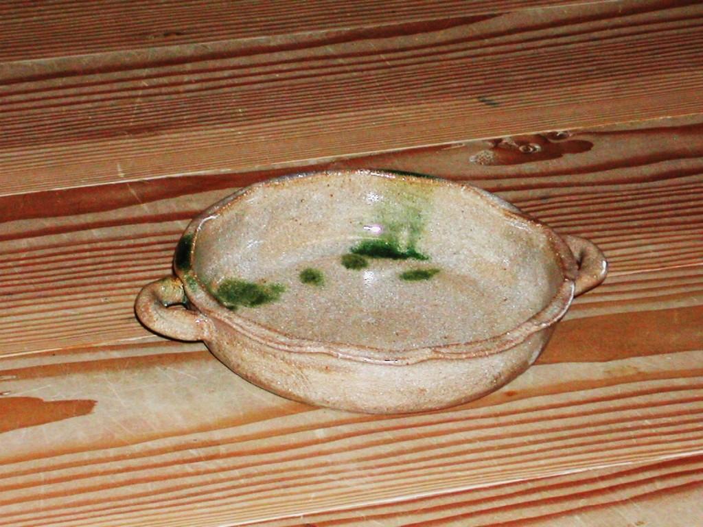 織部流し グラタン皿