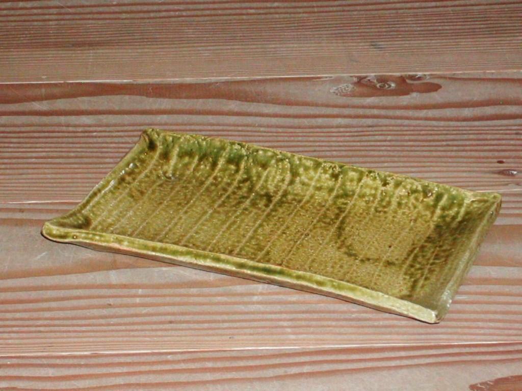 角皿(織部)