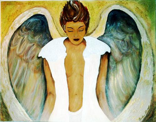 Ruhender Engel (2007) 80 x 100 cm