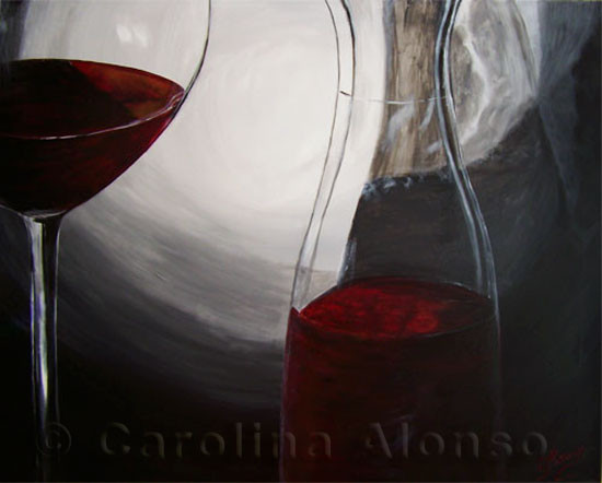 Jarra Rioja (2009), 80 x 100 cm