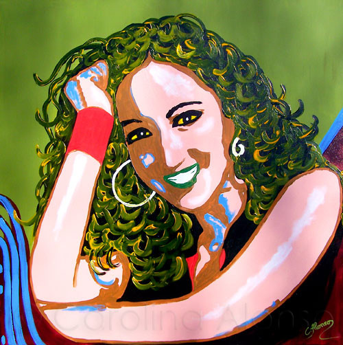 Carmen Carmen V (2010), 100 x 100 cm (2010), 100 x 100 cm