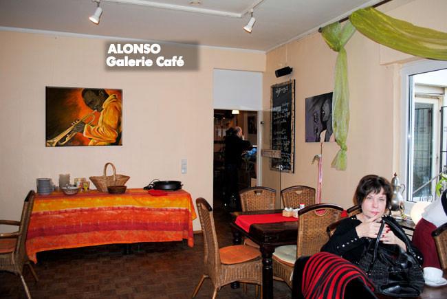 """Galerie Café,51465 BERGISCH GLADBACH,""""Rassig-Jazzig"""",Jan. 2011"""