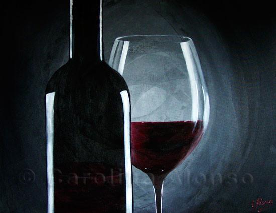 Deep Red (2009), 80 x 100 cm