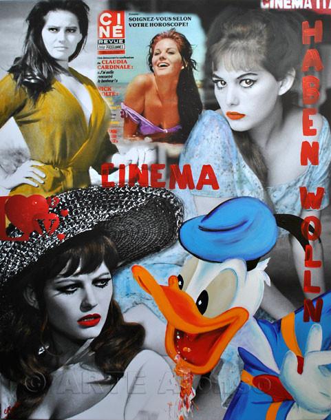 Haben wollen, Print & Acryl, (2011) 100 x 80 cm