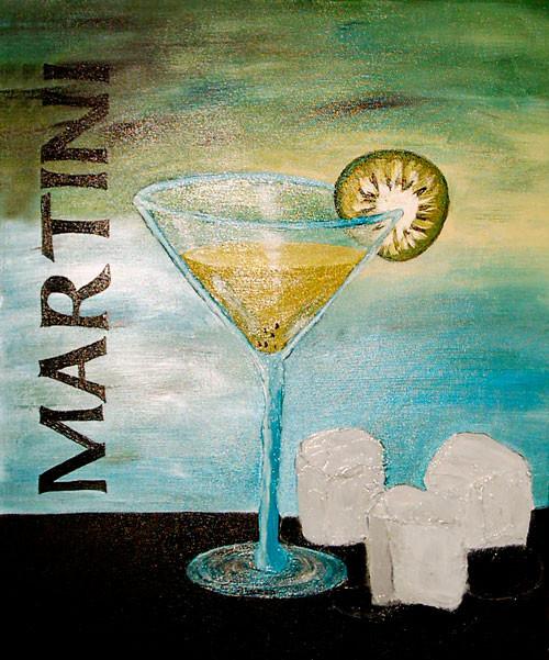Martini, 60 x 40 cm