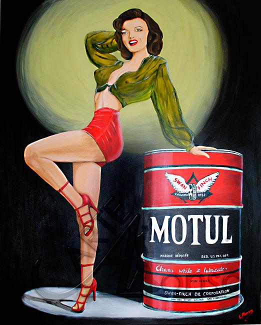 MOTUL Girl  150 x 120 c