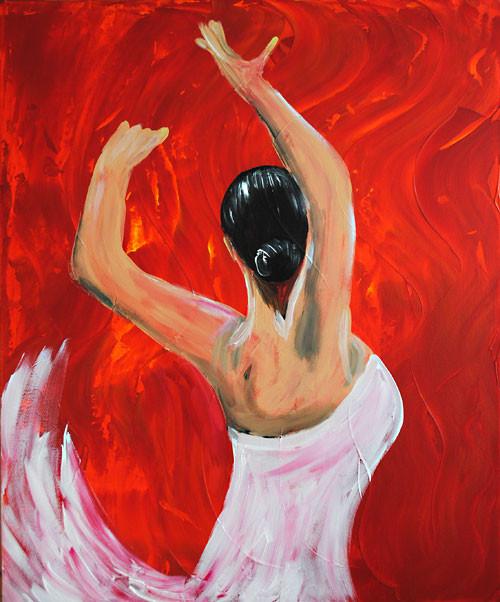 feurige Carmen (2010), 60 x 50 cm
