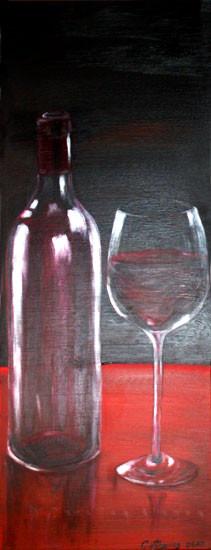 Vino tinto (2009) 80 x 30 cm