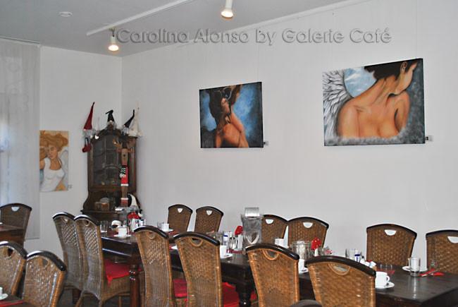 "Galerie Café ""Engelszeit"",  51465 BERGISCH GLADBACH  , Okt. 2012"