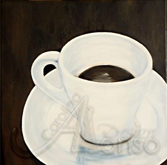 Espresso, 50 x 50 cm