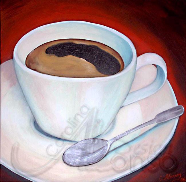Café, 60 x 60cm