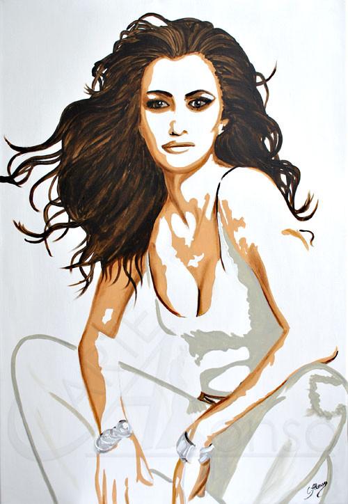Kurz Pause (2012), 100 x 70 cm, Acryl auf Leinwand
