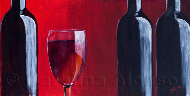Der Abend wird lang (2010), 50 x 100 cm
