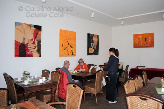 """Galerie Café,51465 BERGISCH GLADBACH,""""Flüssiges"""",März 2011"""
