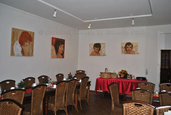 "Galerie Café,  51465 BERGISCH GLADBACH, ""Engelszeit"", Okt. 2011"