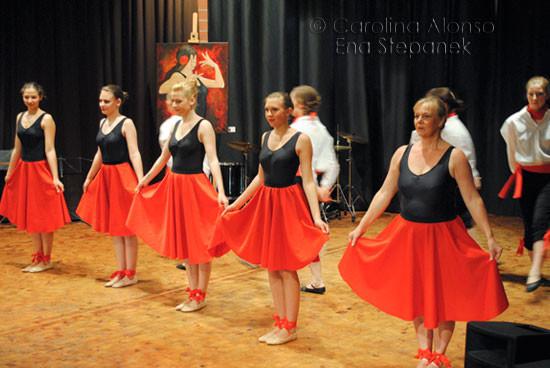 """Ballettschule Ena Stepanek """"Spanischer Abend"""",53797   LOHMAR-Wahlscheid, April 2011"""